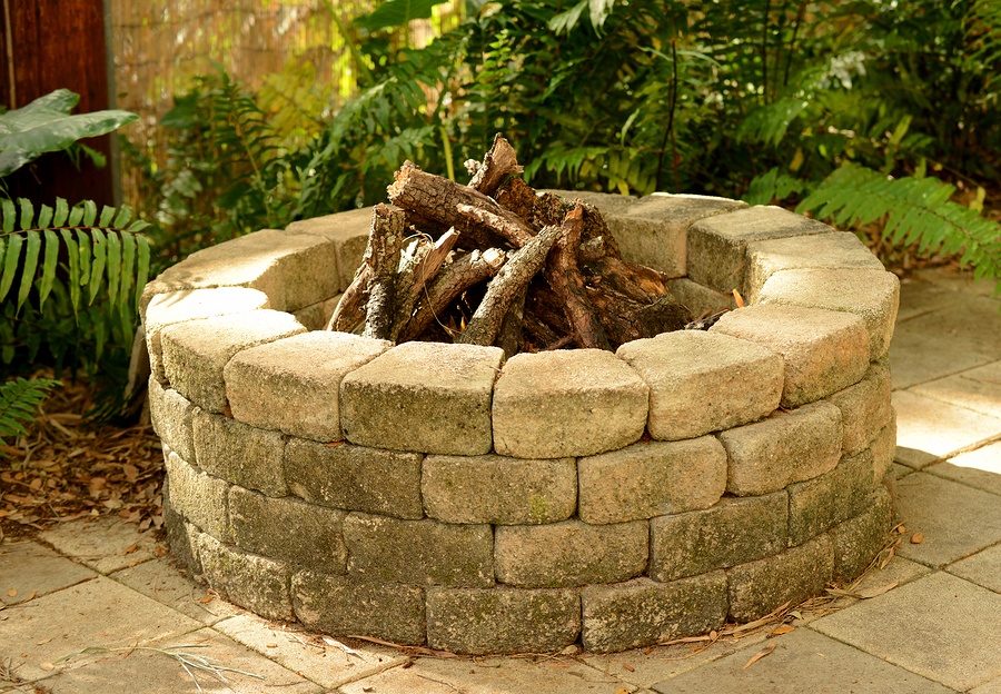 How to build a stone fire pit greenwood hardware for Materials needed to build a fire pit